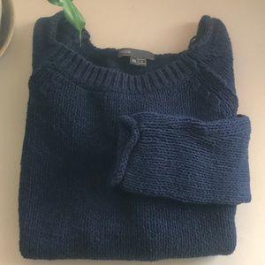 Vince cotton blend sweater